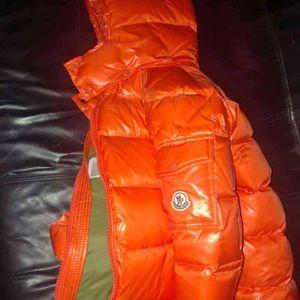 Other - Orange Montcler Jacket